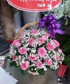 giỏ hoa tươi -10