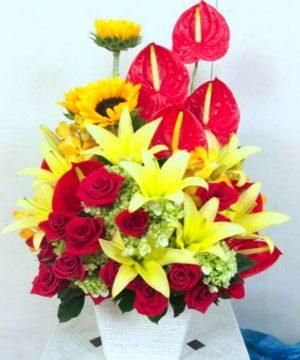 giỏi hoa tươi 12