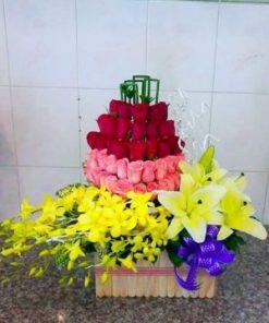 giỏi hoa tươi 16