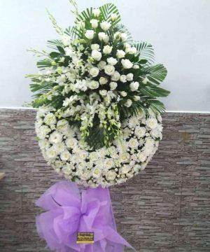 hoa chia buồn 25