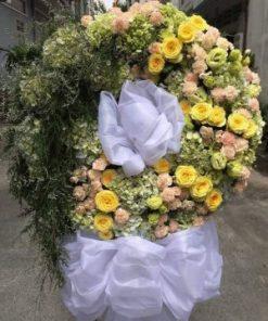 hoa chia buồn 33