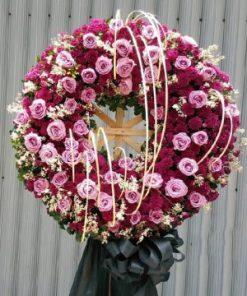 hoa chia buồn 34