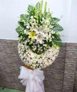 hoa chia buồn 42