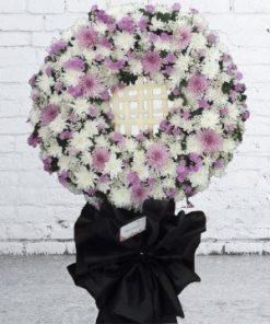 hoa chia buồn 44