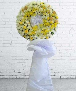 hoa chia buồn 45