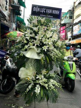 hoa kệ 2 tầng tang lễ
