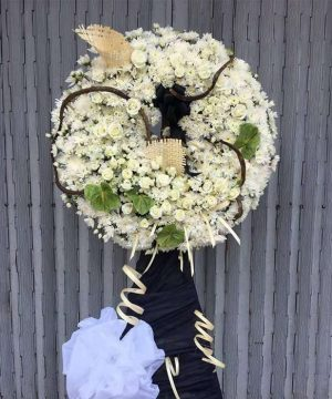 mẫu hoa đám tang đẹp