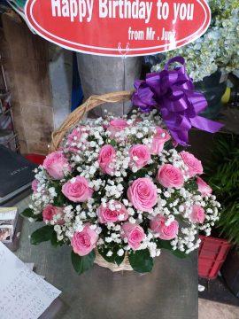 giỏ hoa tươi tiền giang
