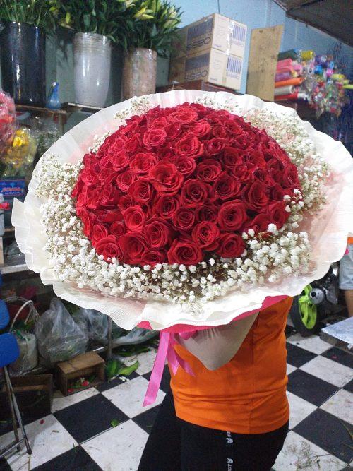 bó hoa tươi đẹp quận 2