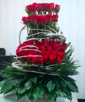 giỏ hoa tươi 25