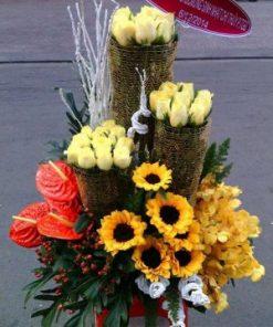 giỏ hoa tươi 29