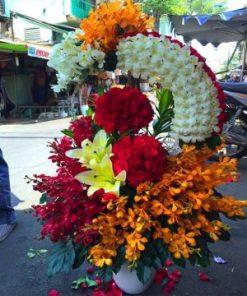 giỏ hoa tươi 30