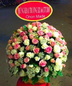 giỏ hoa tươi 31