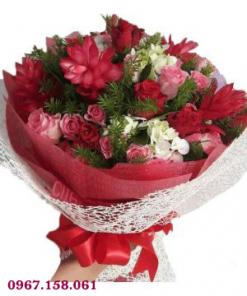 bó hoa tươi 34