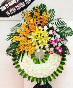 hoa chia buồn 65