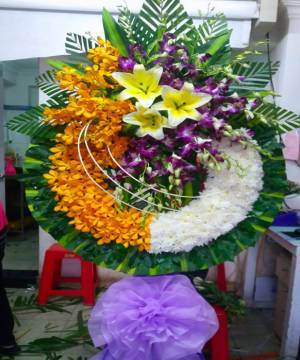 hoa chia buồn quận 12
