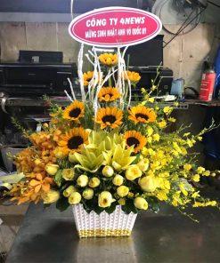 giỏ hoa tươi -62